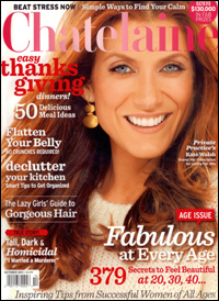 Gorgeous Hair – Chatelaine Magazine - October, 2011