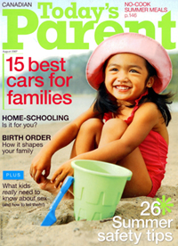 Your A to Z Guide to Sun, Surf and Sand – Today's Parent, August 2007