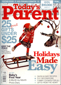 Winter-proof your skin – Today's Parent - December, 2011