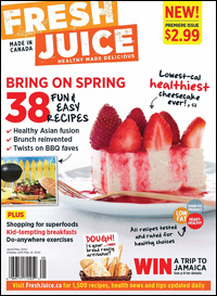 Sun safety – Fresh Juice Magazine - April/May 2012