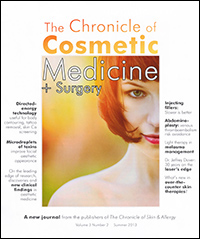 The Chronicle of Cosmetic Medicine + Surgery - Summer 2013
