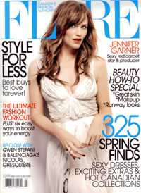 Happy Skin - Flare Magazine - March, 2010