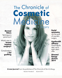Chronicle of Cosmetic Medicine + Surgery, Autumn 2014