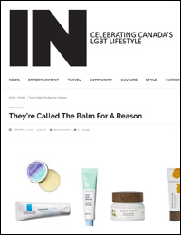 IN Magazine: Skin Balms | January 1, 2018