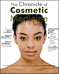 Chronicle of Cosmetic Medicine + Surgery, Autumn 2018